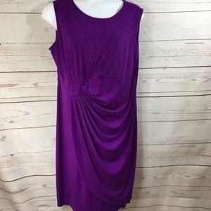Enfocus purple Glitter Dress